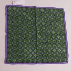 Ike Behar Silk Mens Pocket Square/Handkerchief